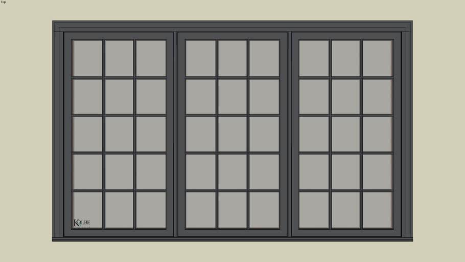 """Kolbe Ultra Casement KUE356 (F.S. 9'-0"""" x 5'-6"""" R.O. 9'-0 1/2"""" x 5'-6 1/2"""")"""