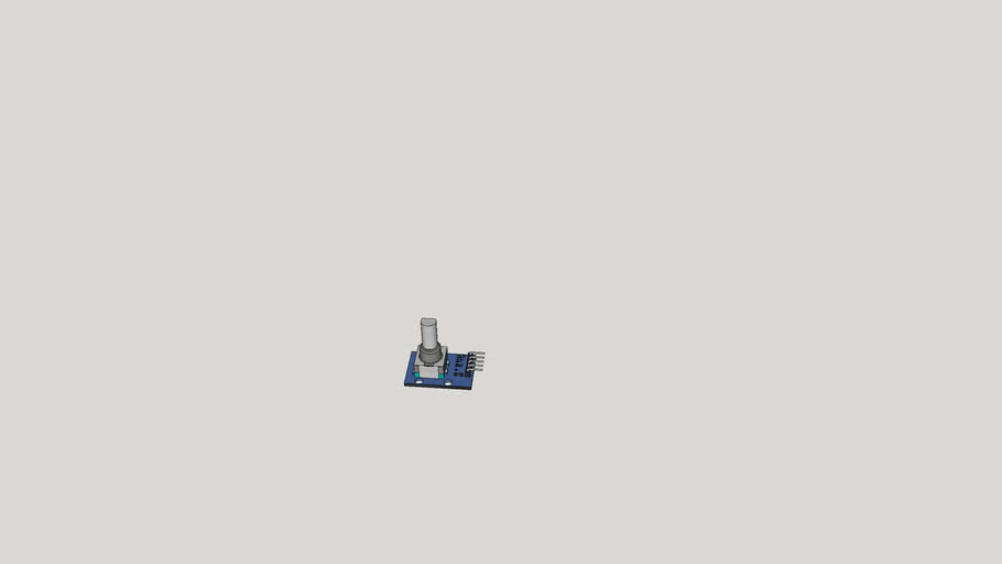 rotary encoder with click switch detailed