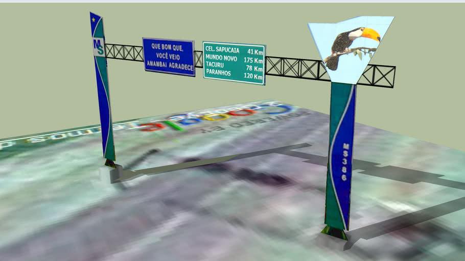 Portal de Entrada de Amambaí  - MS 156