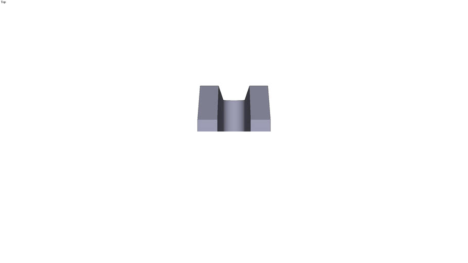 Stepped clamp - 315 x 74 x 50 mm