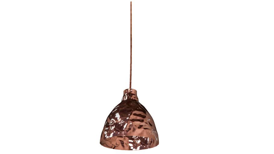 36585 Pendant Lamp Rumble Copper 20cm (HL Rumble Copper 20cm)