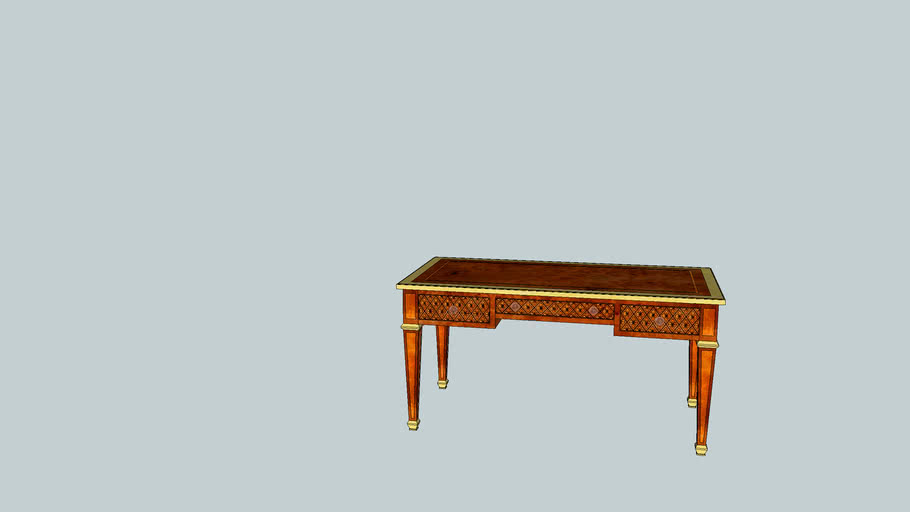 Charles Marquetry Desk