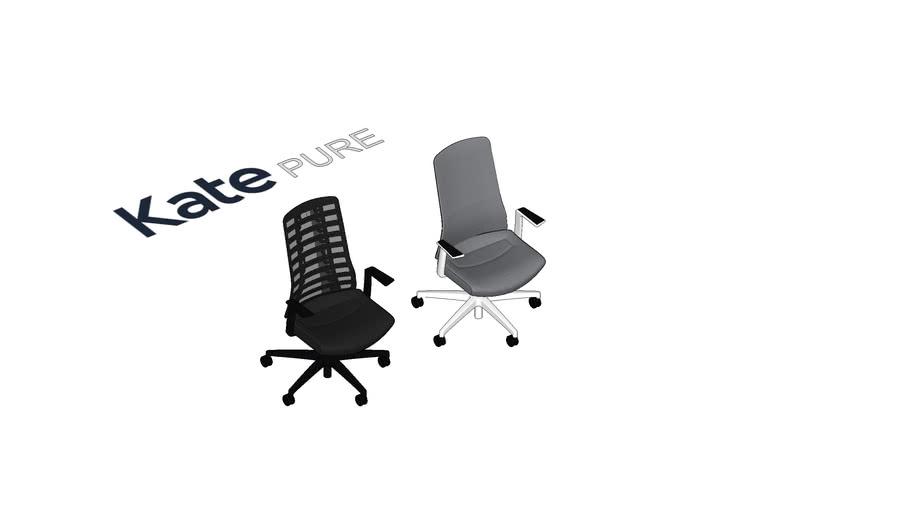 KATE PURE darba krēsli