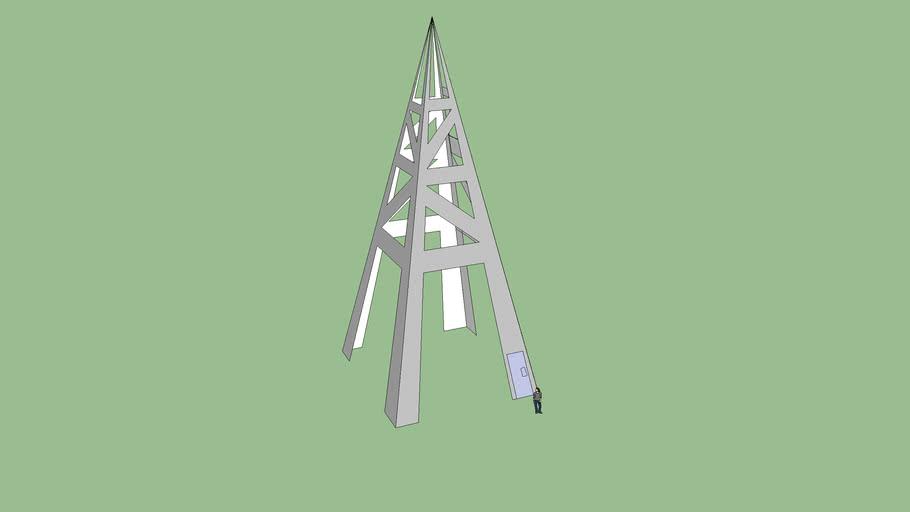 modern eifel tower
