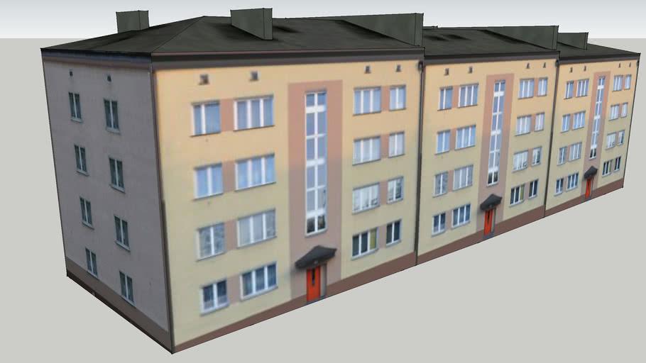 Blok przy ulicy Starodąbrowskiej 9