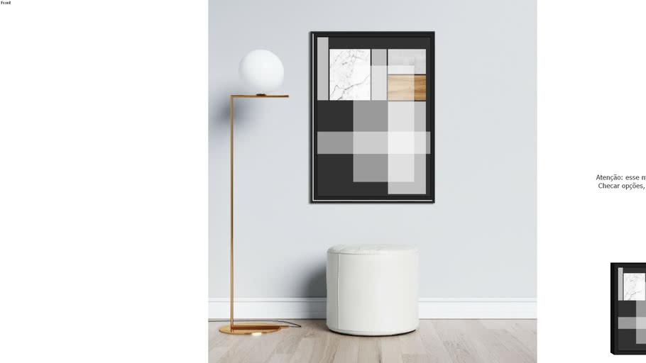 Quadro Trilha de Noir - Larissa Ferreira - A galeria 9