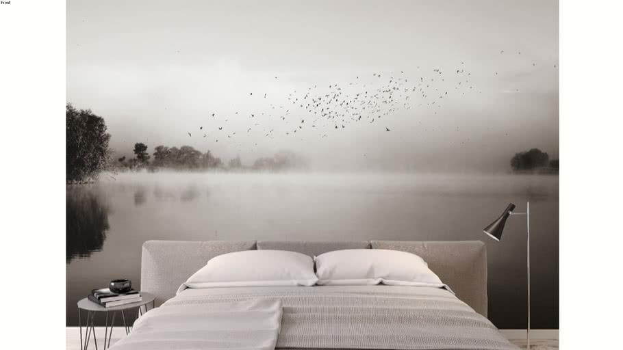 Papier peint panoramique Acte-Deco Brumes matinales 06