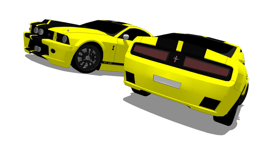 Modified 2008 Shelby Mustang GT500 Eleanor