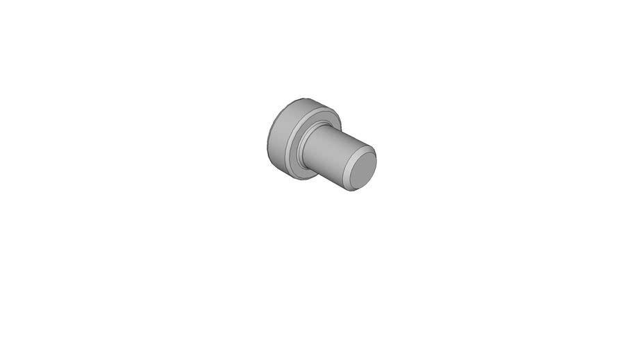 03060377 Hexagon flange bolts DIN 6912 M6x8