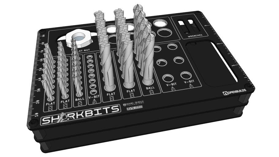 OpenBuilds SharkBits Holder
