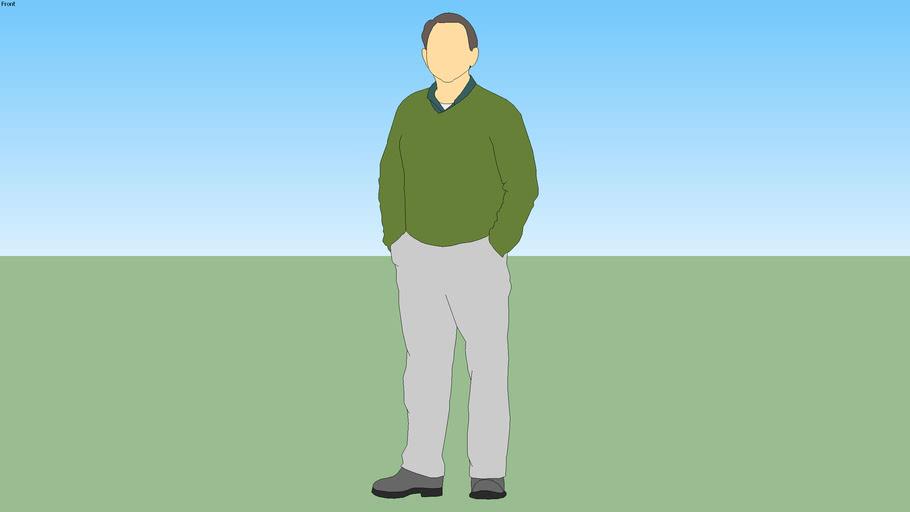 Derrick (Green Sweater)