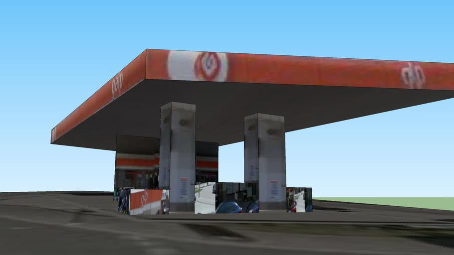 Gasolinera a Esplugues