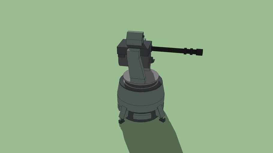 UNSC scythe turret