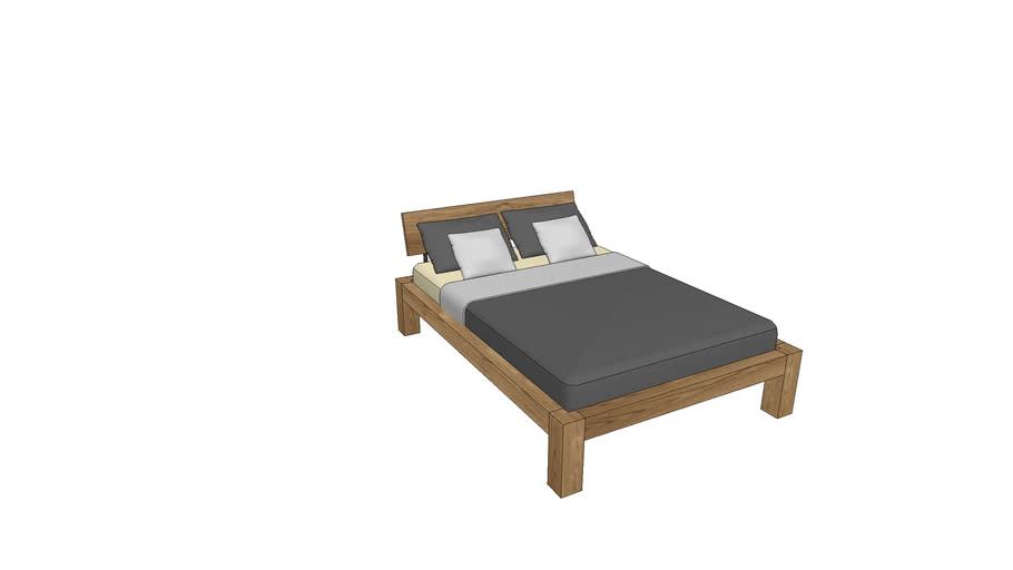 BA720, Basel Bed 140x200cm