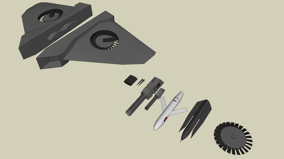 some components for fighters