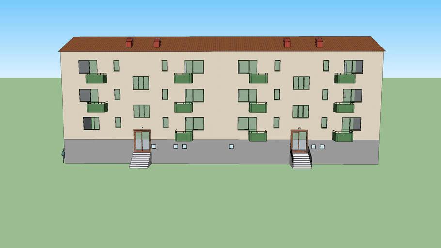 Apartment house in Hammarbyhöjden1
