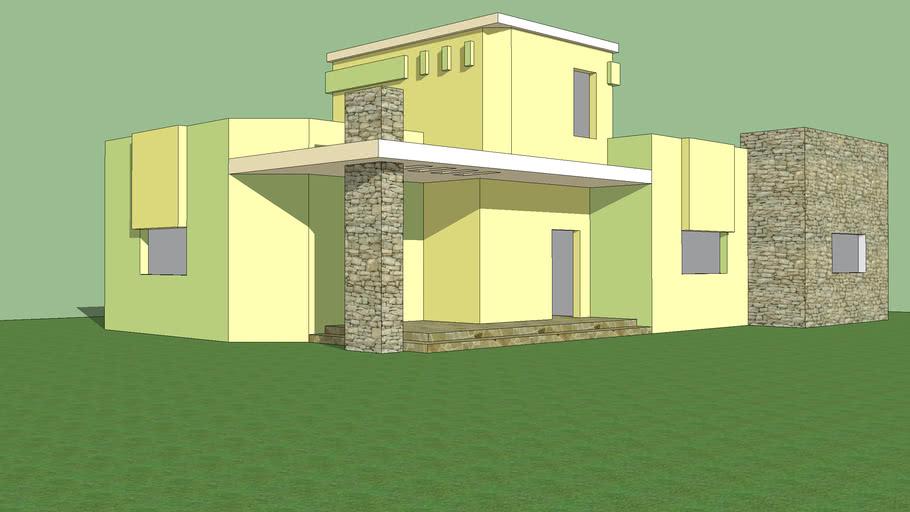 منزل ارضي تصميم ممتاز