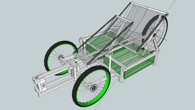 XYZ Spaceframe Bike