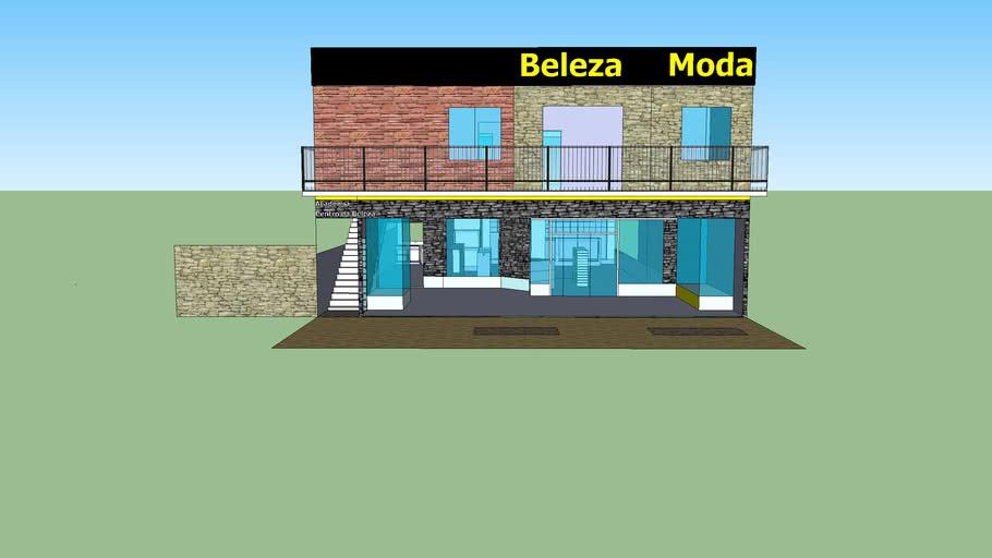Projeto de Academia,  centro de beleza, loja de Modas