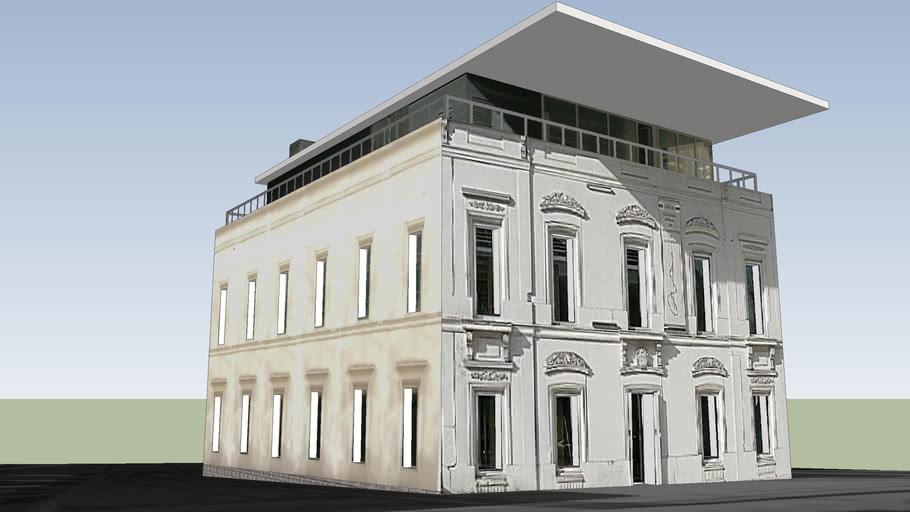 Edificio de Oviedo, Colegio Oficial de Arquitectos