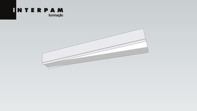 luminaria moderna plafon trapezoidal