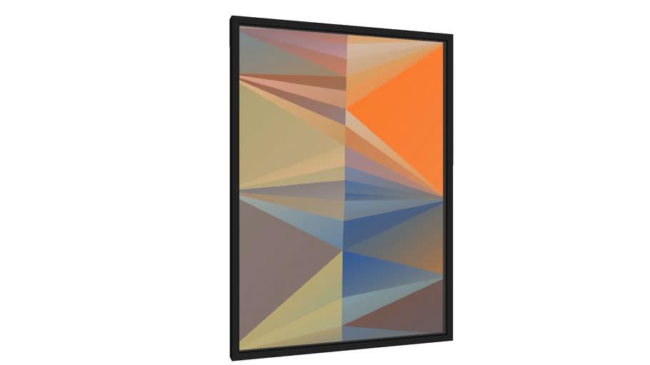 Quadro Composição Abstrata 664 - Galeria9, por Estevez