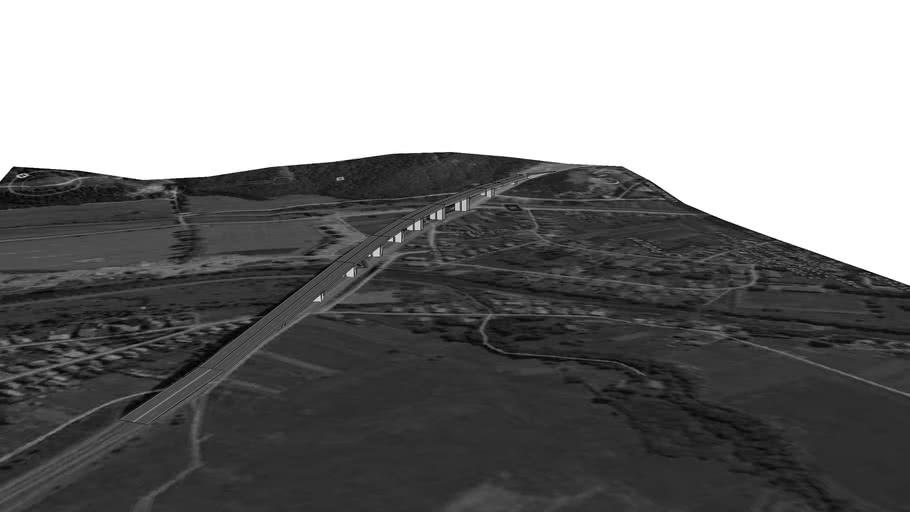 "Viaduct ,,Podtureň"""