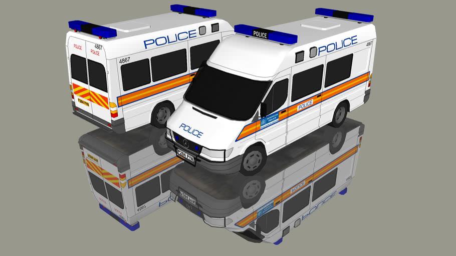 2001 MERCEDES BENZ SPRINTER (Metropolitan Police)