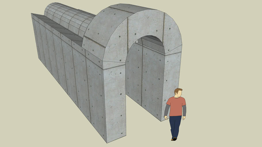 Concrete Archway