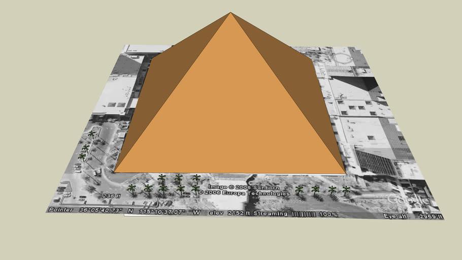 The Luxor Pyramid!