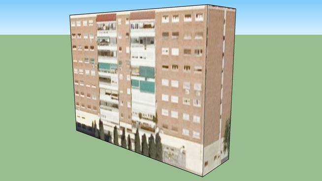 Edificio en Madrid, Comunidad de Madrid, España