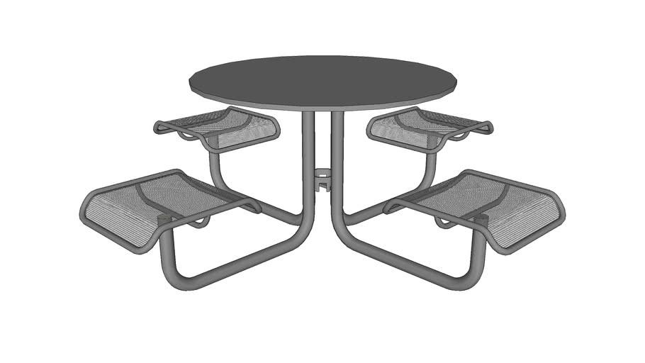 Carousel 4 Seat Table