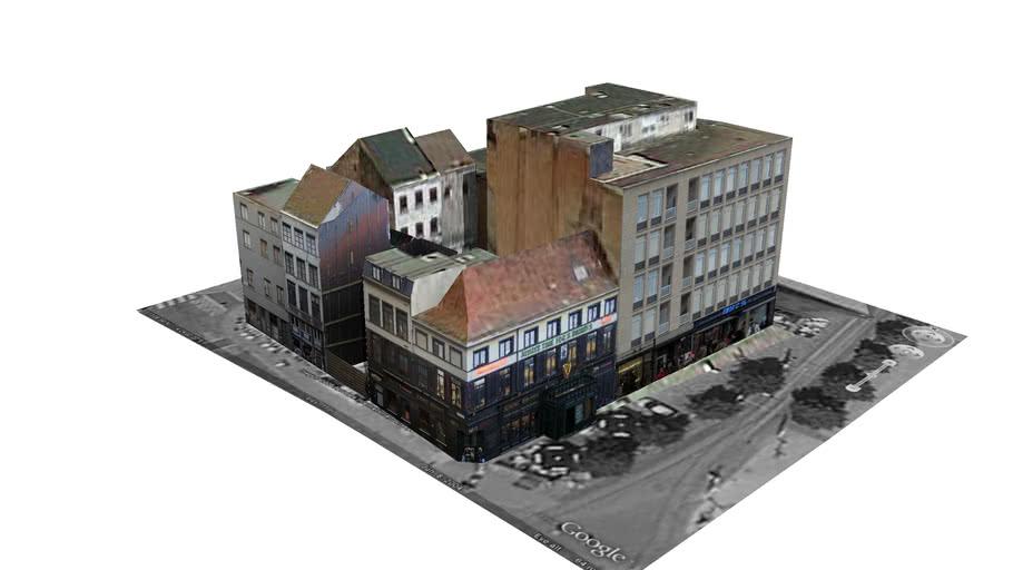 Blok  Groenkerkhofstraat, Antwerp