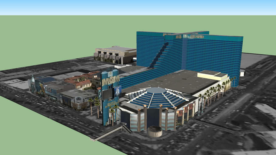 Mgm Grand Hotel And Casino Las Vegas Nv 3d Warehouse