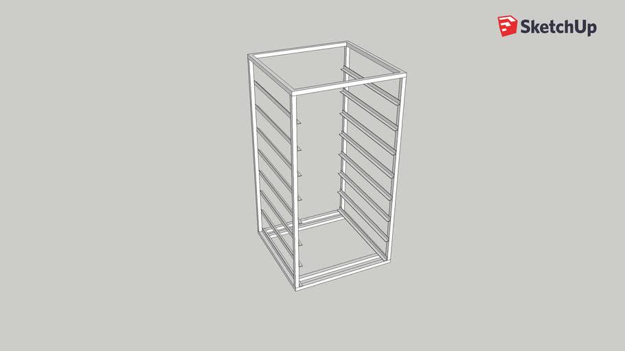 Dishwasher Rack Frame