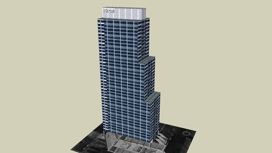 Model of UBS Tower