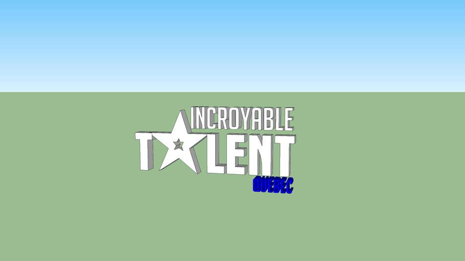 Fictive logo : Incroyable Talent Québec