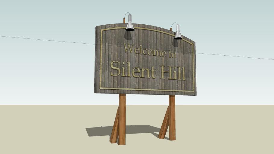 Silent Hill - Letrero