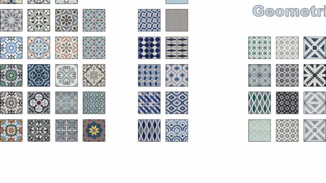 Cement Tiles Seamless Textures