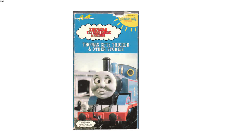 1993 Shining Time Station of Thomas Gets Tricked VHS