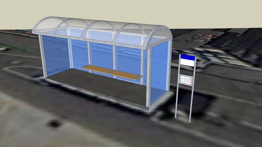Root D4 - Bus stop - Archive