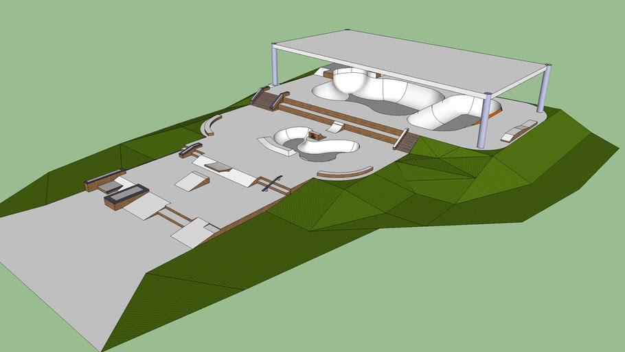Teckine Designs - Mega Park 1 (skatepark)