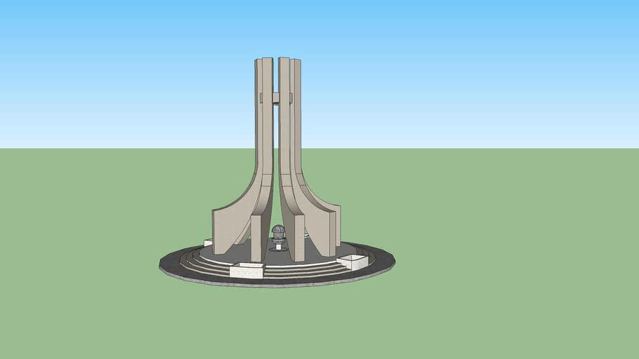 Monument Place de la Kasbah Tunisie