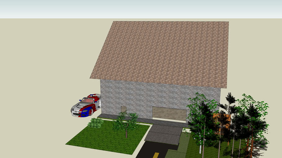 cool house update with BMW Z4