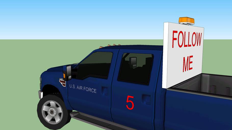 "USAF ""Follow-Me"" Truck"