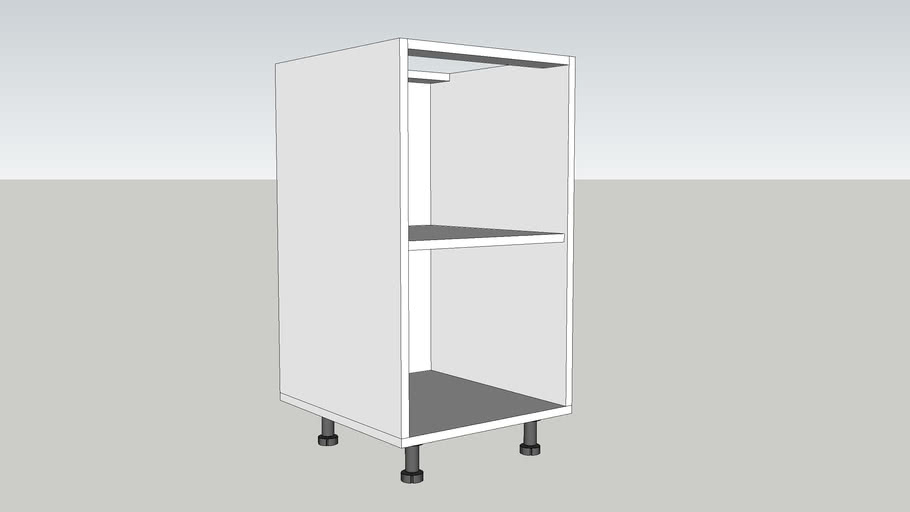 CORP INFERIOR 1 POLITA 450 mm /LOWER CABINET WITH A POLE