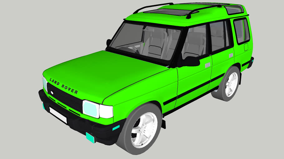 Land Rover Discovery 2 1996 - 2004
