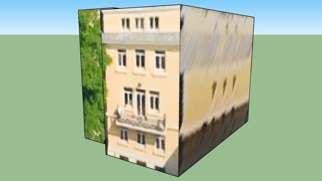 Building in Budapest, Hungary 2