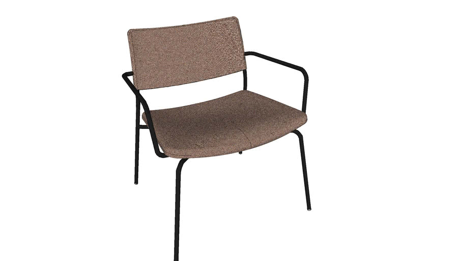Stilo lounge chair 复古休闲椅