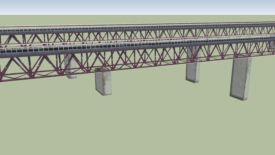 常磐自動車道 日立中央IC手前にかかる橋